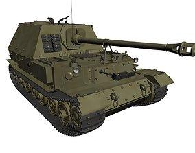 Battle Tank - Tiger-P 3D model