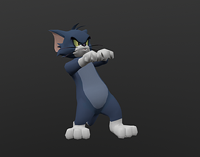 TOMC-002 Tom Cat Dancing 3D asset