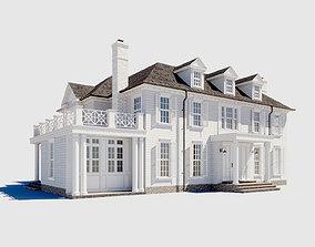 3D model exterior Build001