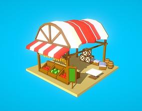 3D model HIE Fruit Shop N1