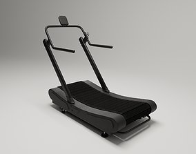 Assault Treadmill - Crossfit 3D model