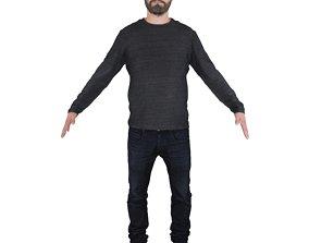 3D No429 - Male T Pose