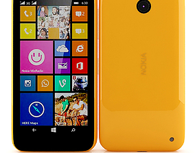 3D Nokia Lumia 630 635 Dual SIM Orange