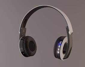 Headphones HARPER HB-400 3D model