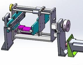 3D model The gantry rotating equipment