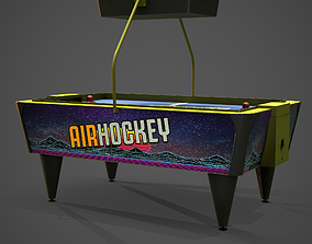 3D asset Air Hockey