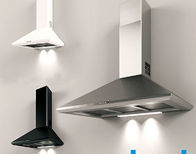 Kitchen Hood Best K240 3D model