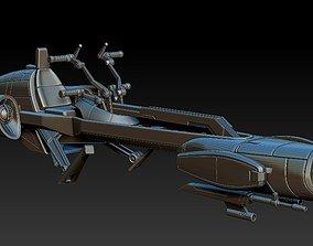 BARC Speeder for 6 inch scale model kit STL