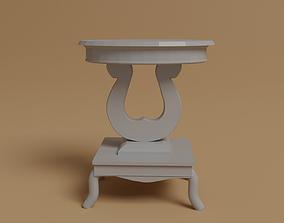 Porcelain Living room table 3D