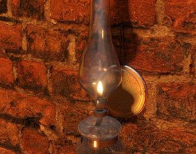 3D Oil vintage lamp