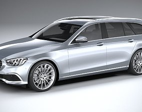 3D model Mercedes-Benz E-Class Estate basic 2021