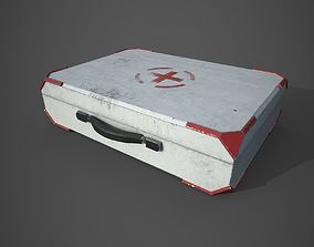Medical kit case - PBR - lowpoly - animated 3D asset