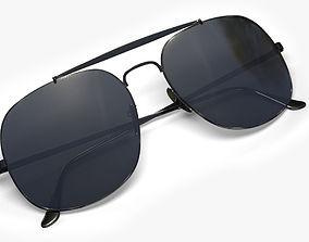 Sunglasses 3D asset low-poly