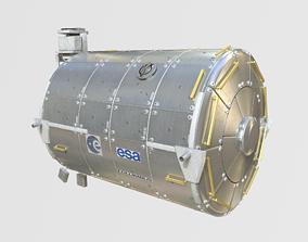 European Research Laboratory Columbus ERLC Module on 3D