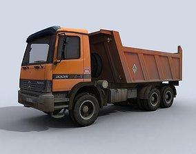 Dump Truck 3D asset VR / AR ready