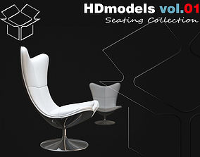 3D model Chairs Collection