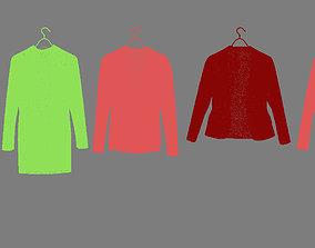 Clothes 3D model characters