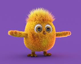 chicken character 3D model