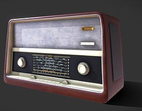 radio 3D Old Radio