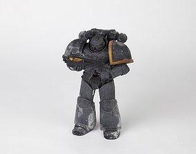 Warhammer 40k Space marine 3D printable model