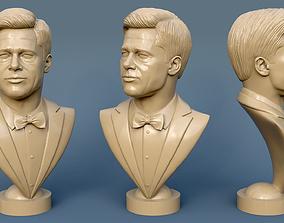 Brad Pitt 3D print model