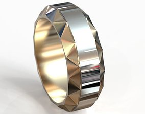 3D printable model Rotating wedding ring obr 5