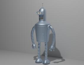 3D asset realtime BenderRodriguez