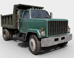 3D asset Dump Truck