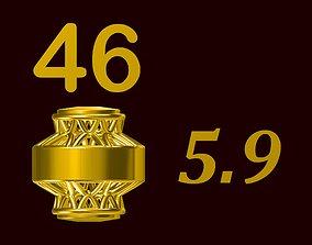 Para ball jewelery gold printable plain studded 46