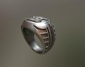 3D print model Stylized Green Lantern Ring