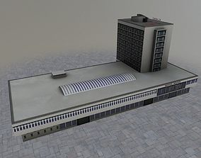 3D model Prague Hotel Kladno
