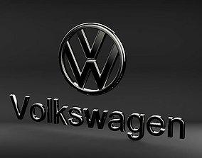 3D printable model logo Volkswagen
