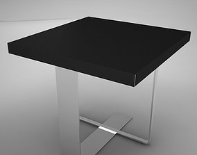 3D model realtime coffe table square 2