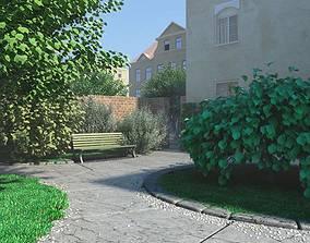 Garden Elements Collection 3D model