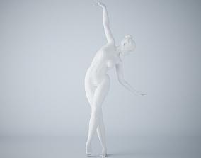 3D print model Ballet dancer pose 007