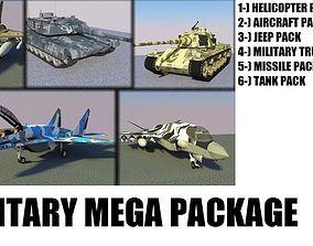 3D model MILITARY MEGA PACKAGE