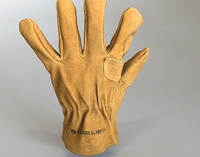 tan 3D Carhartt Fencer Work Glove