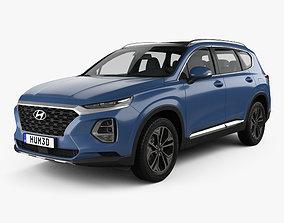 Hyundai Santa Fe TM 2019 3D model