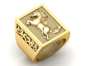 Amanda Gents Horse Ring 3D printable model
