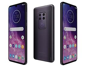 3D model Motorola One Zoom Cosmic Purple