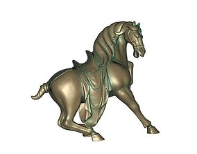 ascetic Horse 3D printable model
