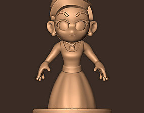 3D printable model LADY GAGA CHIBI LIVE FROM THE