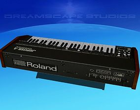 3D model Roland Jupiter 4 Synthesizer