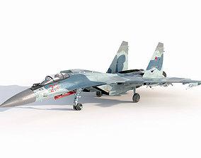 Sukhoi Su-35 Flanker-E 3D