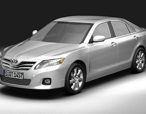 2010 Toyota Camry 3D model