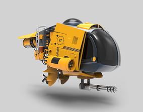 3D Concept Submarine
