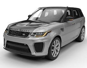 Land Rover Range Rover Sport SVR 2018 3D model