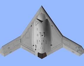 3D model US NAVY Northrop Grumman X-47B Pegasus attack