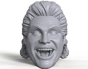 Johnny B Badd 3D printable portrait sculpt