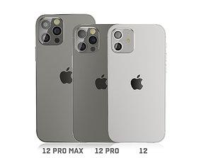 iPhone 12- pro -pro max 3D model